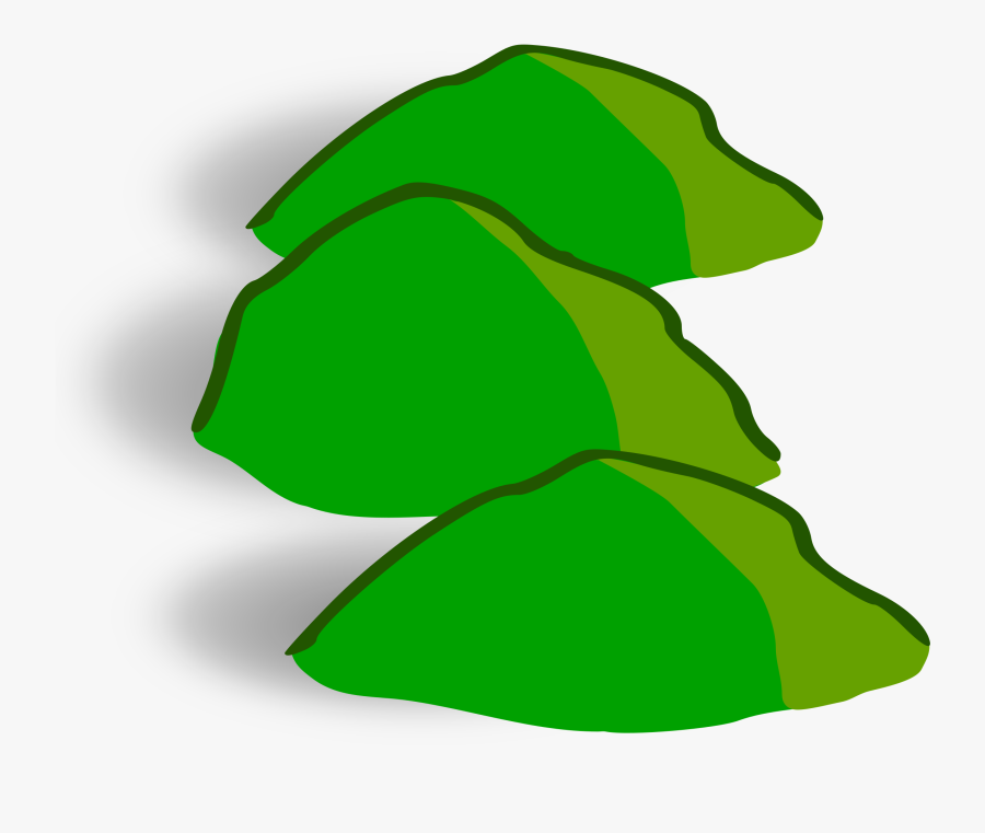 Clipart Mountains Hill - Hills Map Icon, Transparent Clipart