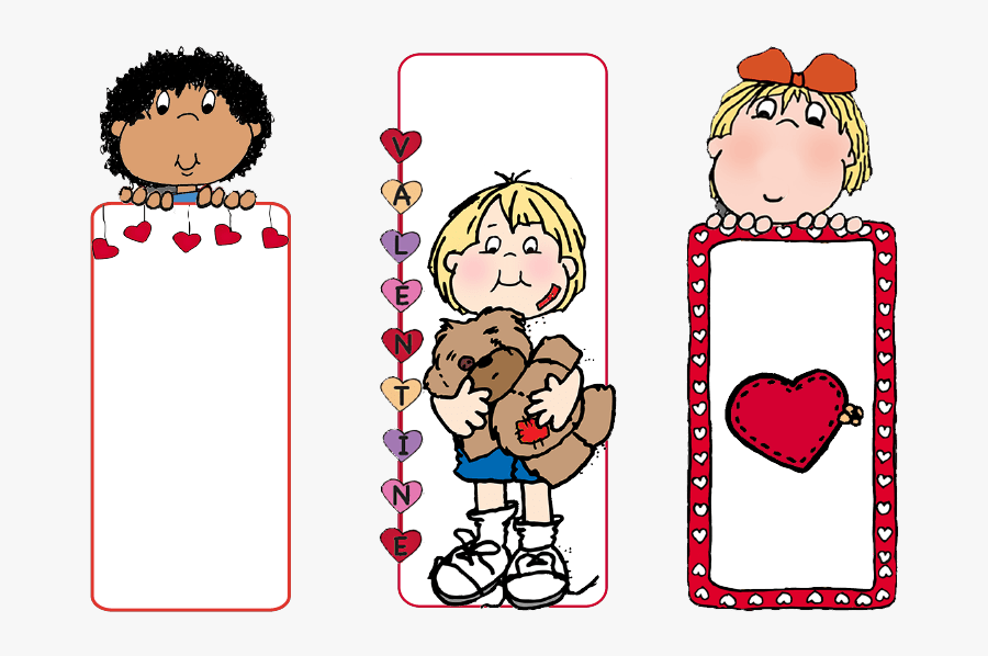 Look What You Can Do With Clip Art Valentine Bookmarks - Book Mark Clipart, Transparent Clipart