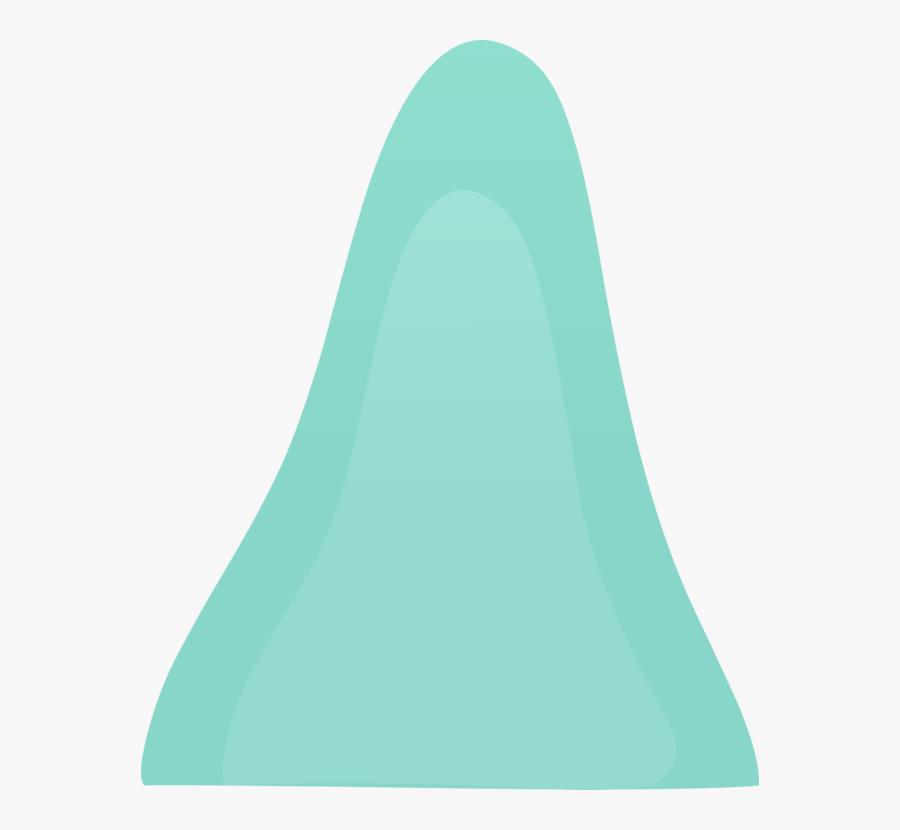 Angle,neck,aqua - Big Hill Png, Transparent Clipart