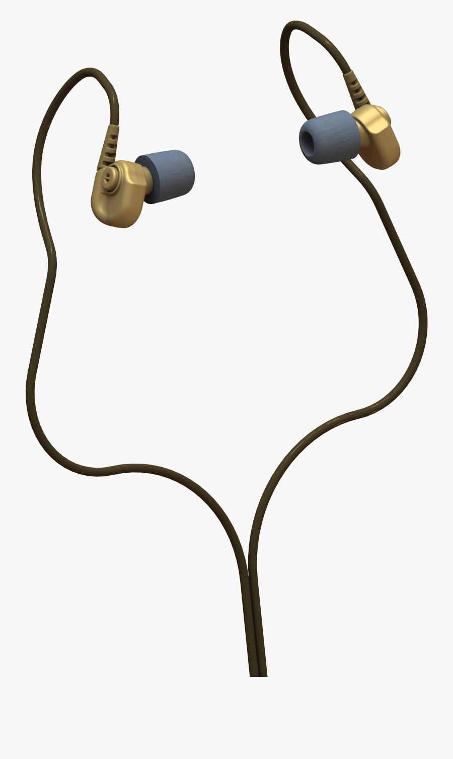 Headphone Clipart Radio Headphone - Headphones, Transparent Clipart