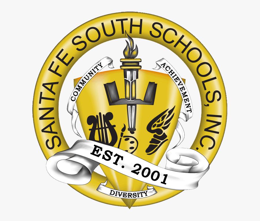 Santa Fe South High School Logo, Transparent Clipart