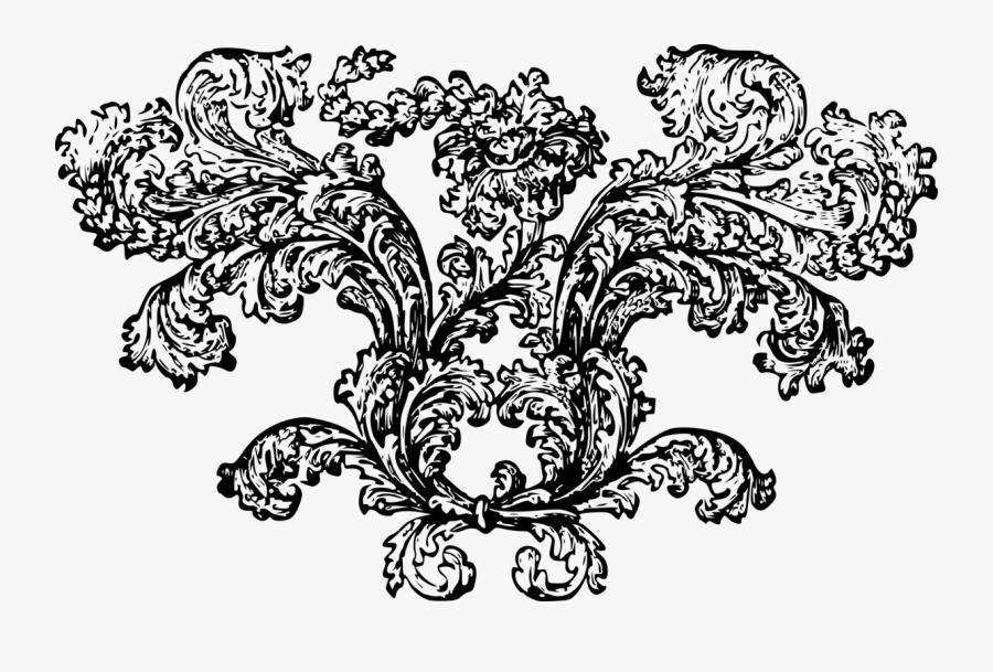 Art,symmetry,monochrome Photography - Clip Art, Transparent Clipart