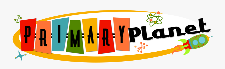 Primary Planet - Children Books Header Design, Transparent Clipart