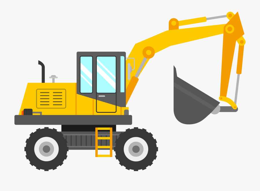 Vector Royalty Free Download Bulldozer Clipart Digger ...