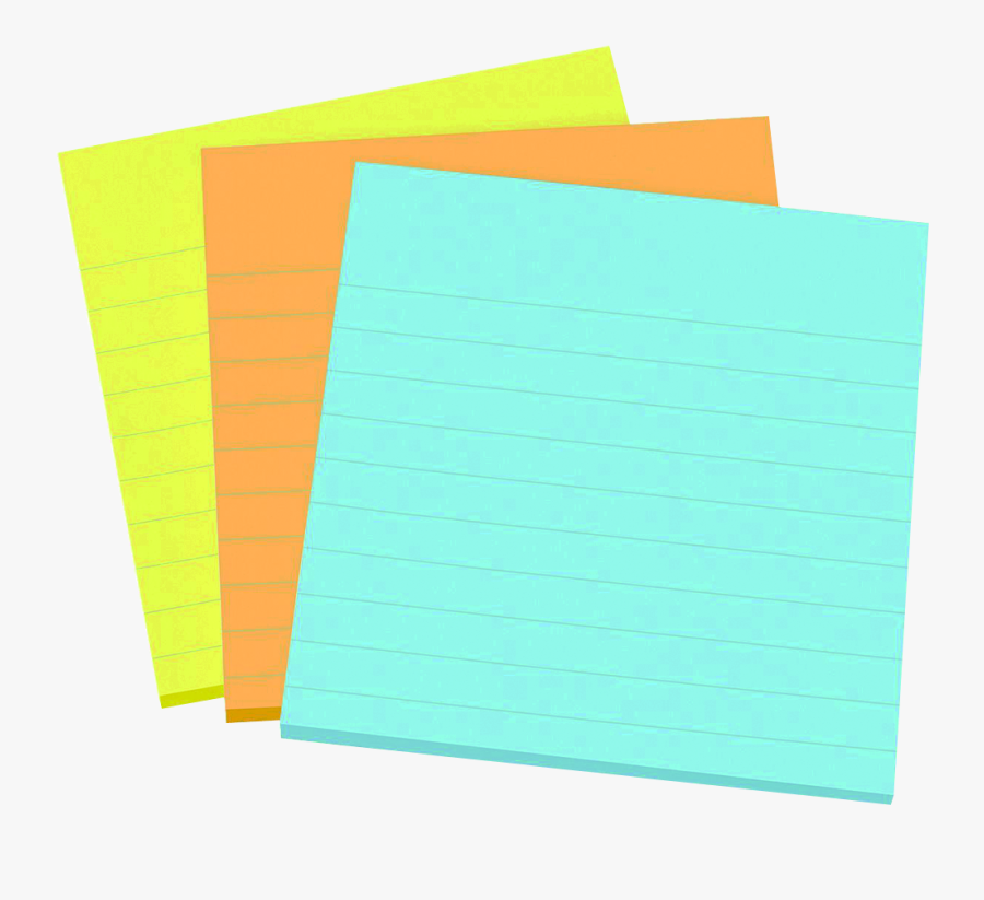 Notepad Clipart Blank Notepad - Construction Paper, Transparent Clipart