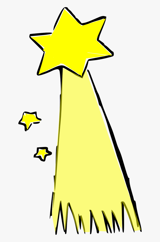Transparent Shooting Star Png - Clipart Shooting Star Cartoon, Transparent Clipart