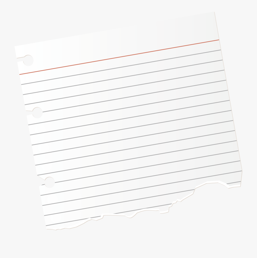 Notebook Paper Png - Ripped Notebook Paper Png, Transparent Clipart