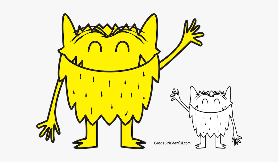 Color Monster Coloring Pages , Free Transparent Clipart - ClipartKey