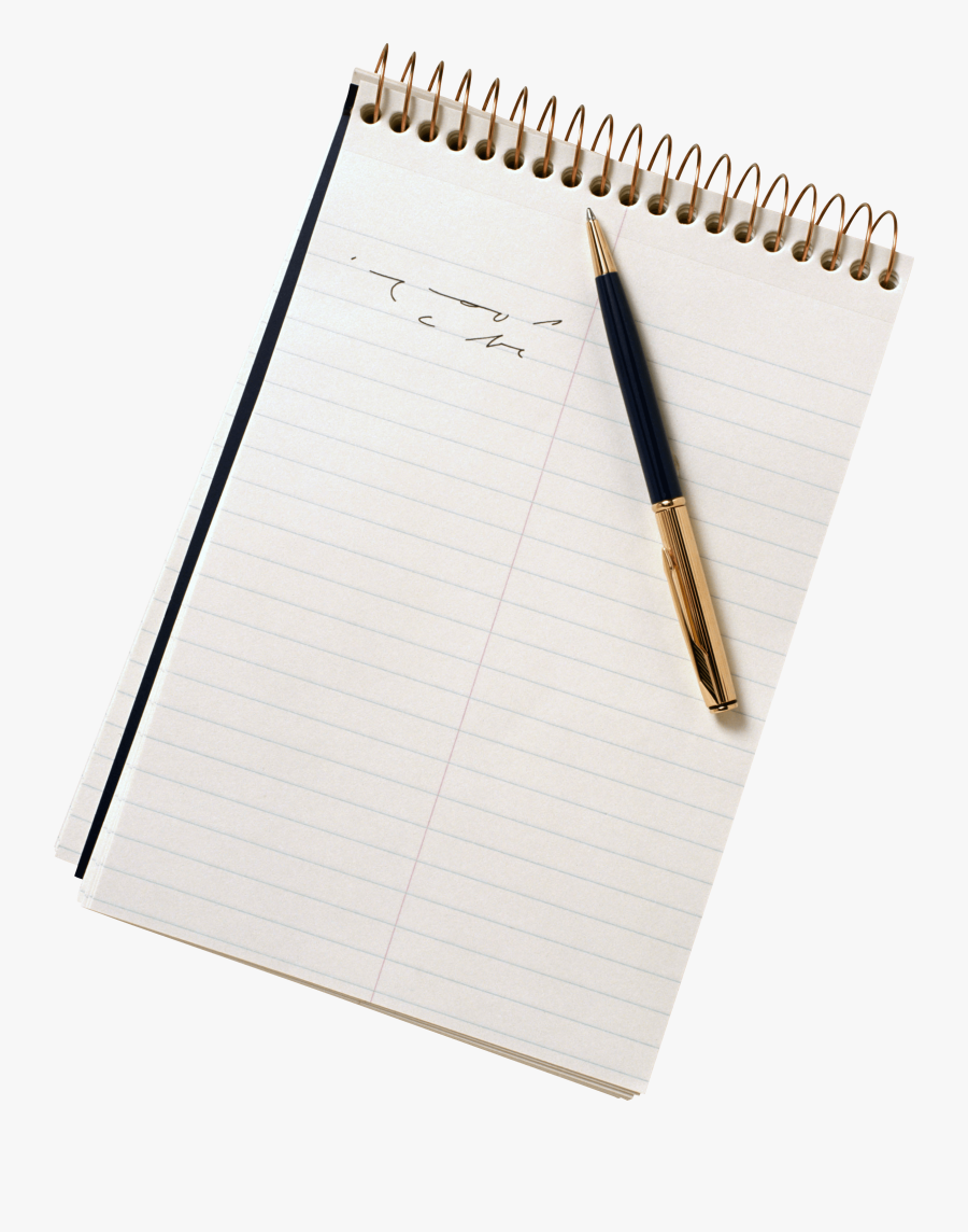 Pen And Paper Clipart - College Rule Paper Png, Transparent Clipart