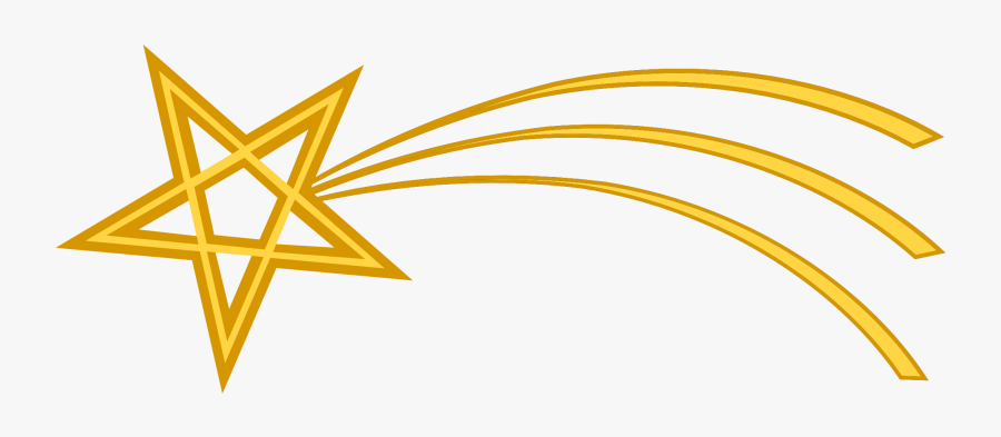 Transparent Background Shooting Star, Transparent Clipart