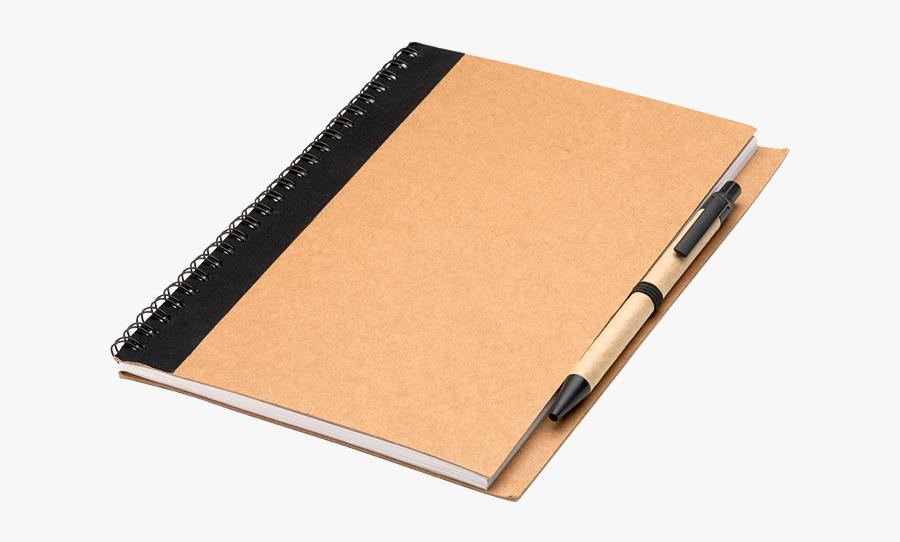 Notebook Pen Paper Coil Binding - Notebook And Pen Transparent Background, Transparent Clipart