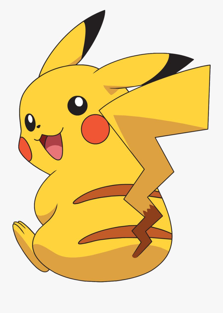 Pikachu Anime - Pikachu Clipart - Pin The Tail On Pikachu Printable Free, Transparent Clipart