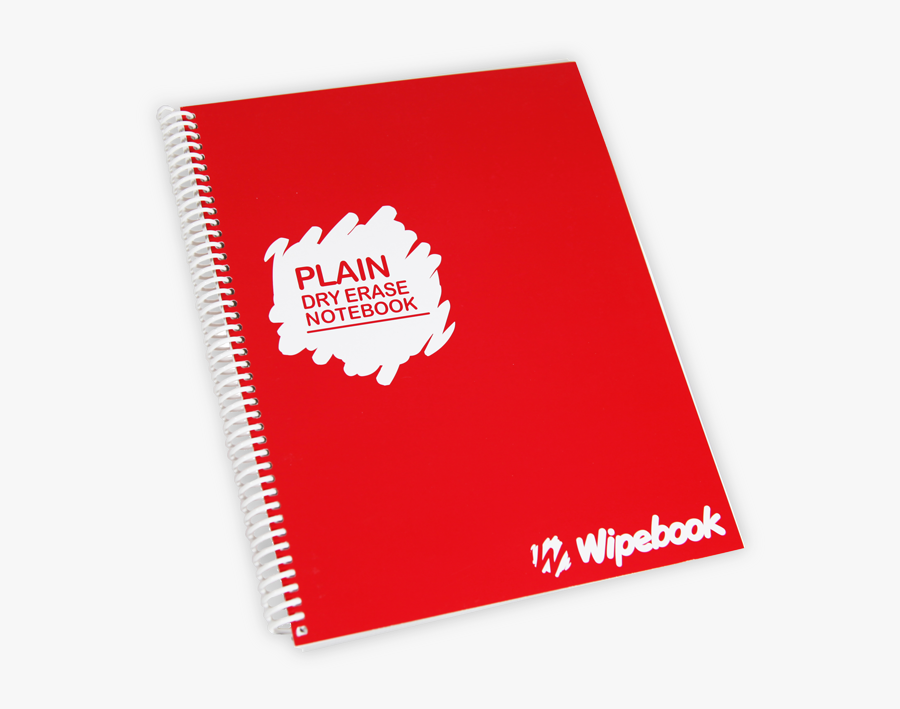 Transparent Notebook Paper Png - Dry Erase Lined Notebook, Transparent Clipart