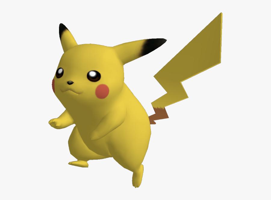 Transparent Pikachu - Super Smash Bros Brawl Pikachu, Transparent Clipart