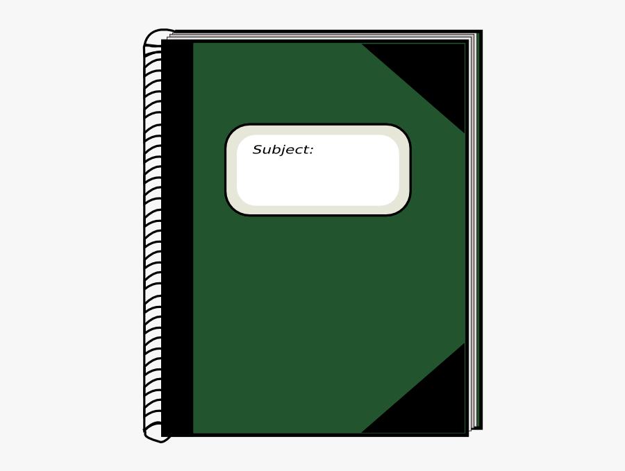 Notebook Clip Art, Transparent Clipart