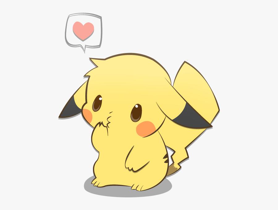 Transparent Pikachu Clipart - Pikachu Kawaii, Transparent Clipart