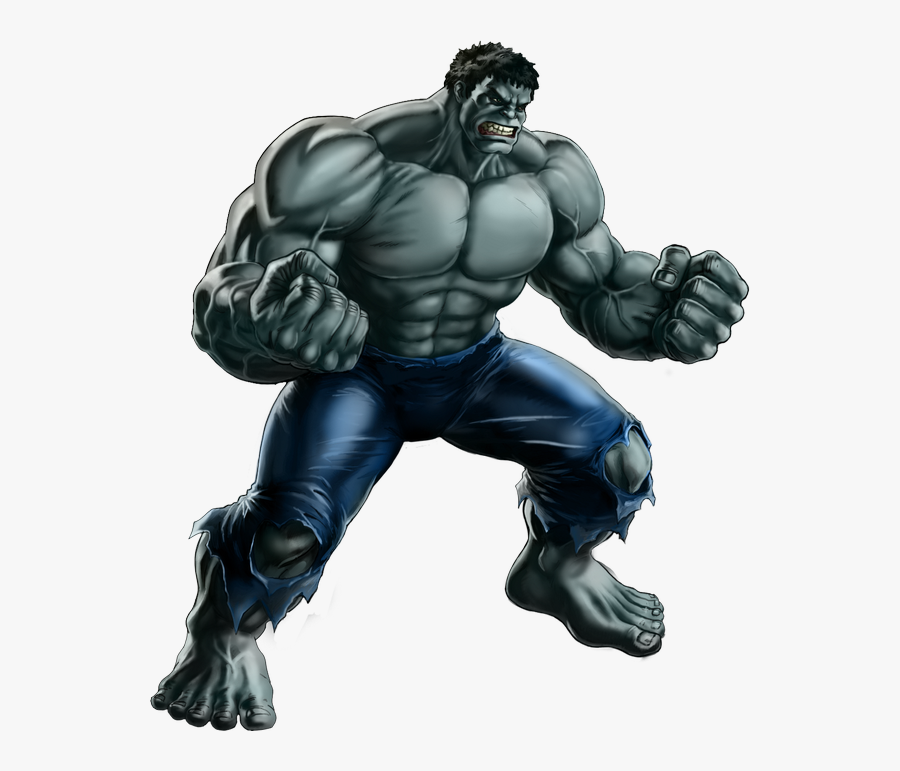 Avenger Drawing Hulk Transparent Png Clipart Free Download - Grey Hulk Png, Transparent Clipart