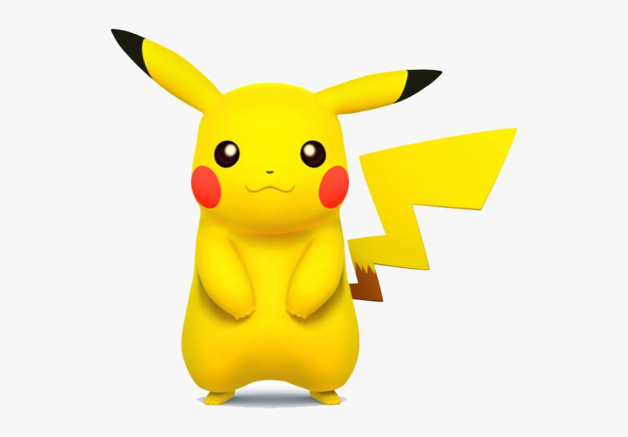 Pikachu 3d Pokemon Png - Super Smash Bros Wii U Pikachu, Transparent Clipart