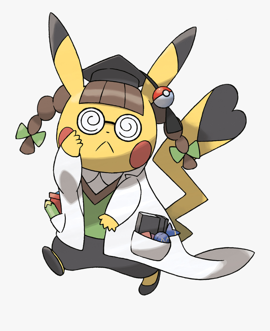 Pokemon Pikachu Png - Pikachu Phd, Transparent Clipart