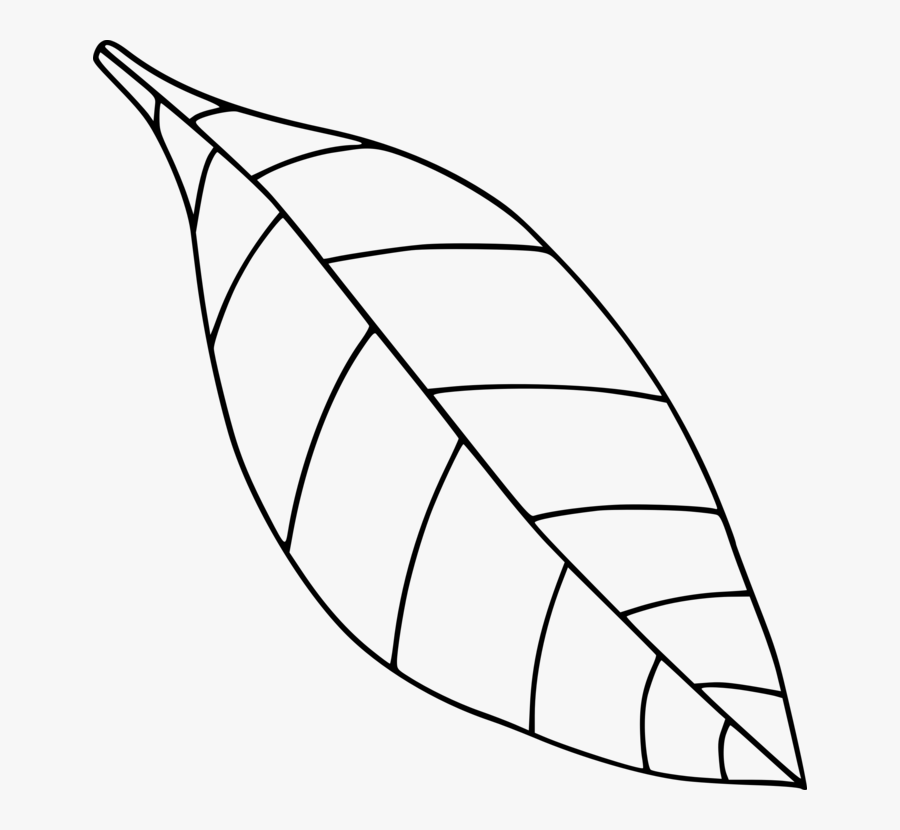 Computer Icons Drawing Black And White Leaf Coloring- - Clip Art Leaves Black And White, Transparent Clipart