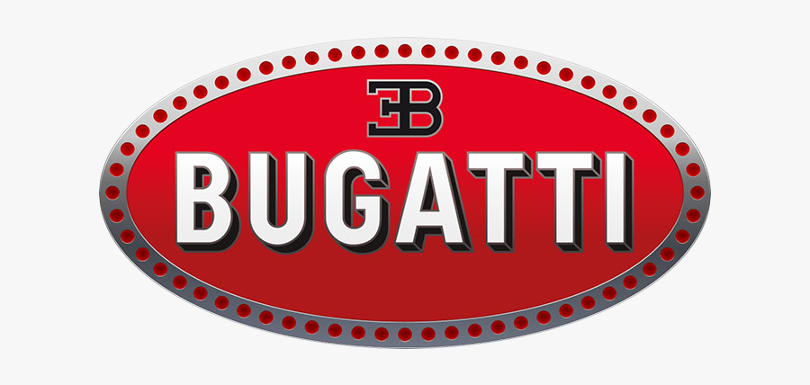 Bugatti Chiron Logo Png, Transparent Clipart