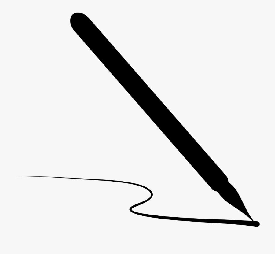 Transparent Caneta Png - Calligraphy Pen Writing Png, Transparent Clipart