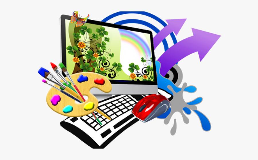 Graphic Design Clipart - Computer Graphic Design Logo, Transparent Clipart