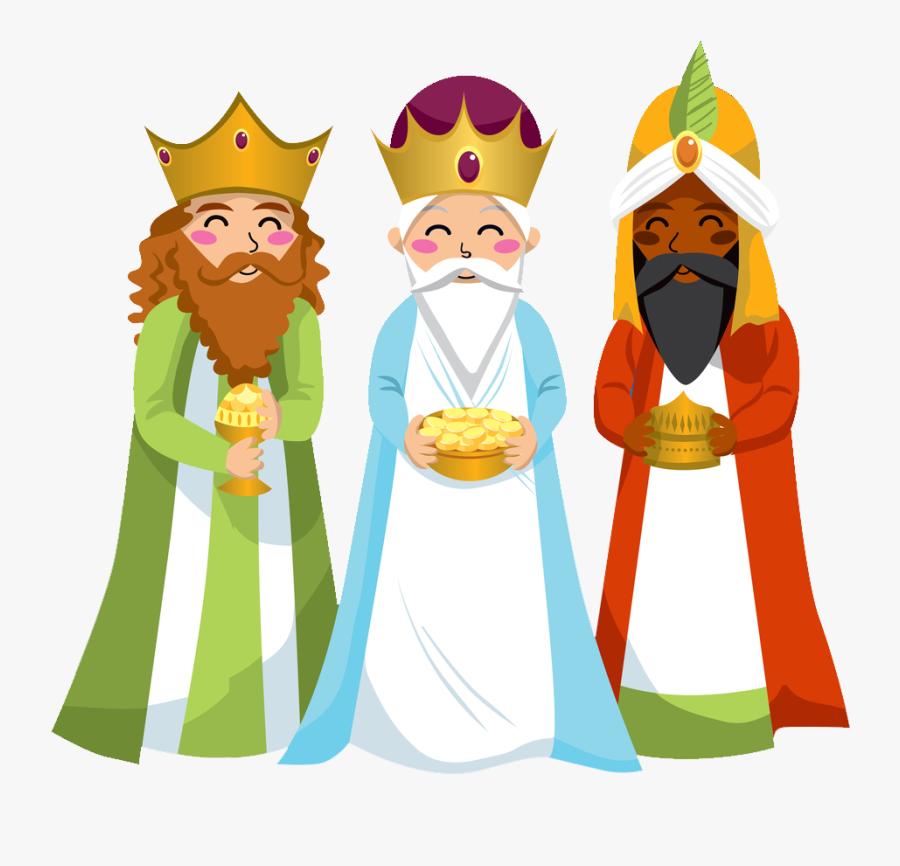 Transparent Purim Clipart - Three Wise Men, Transparent Clipart