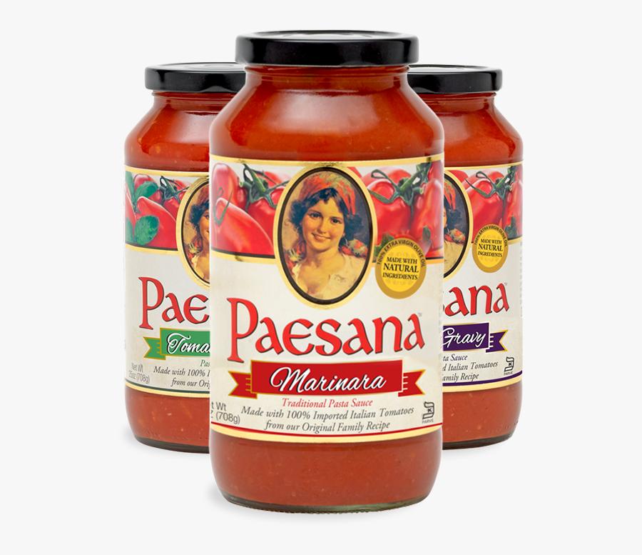 Paesana Pasta Sauces - Paesana Pasta Sauce, Transparent Clipart