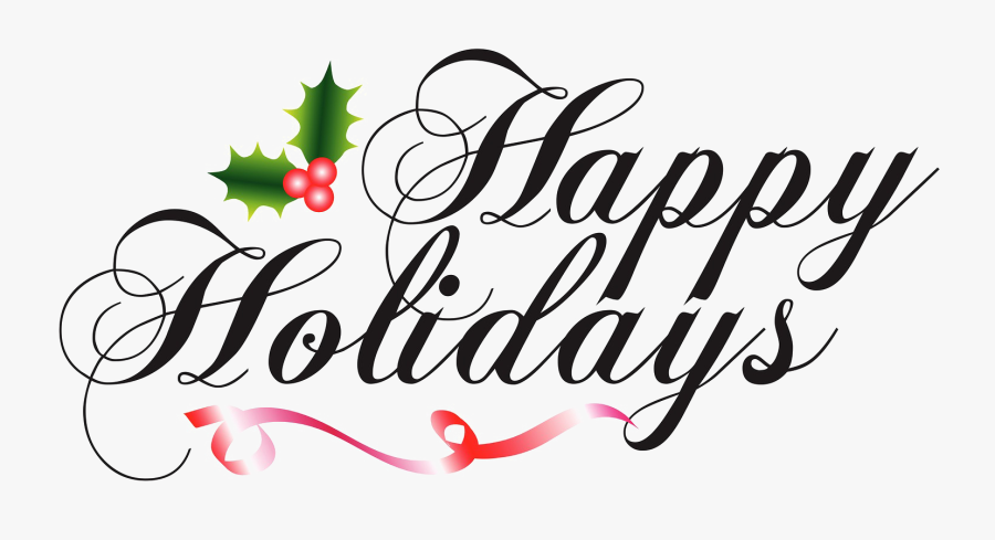 Happy Holidays Png High-quality Image - Happy Holidays Png, Transparent Clipart