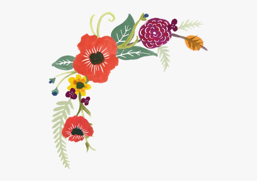 Flower Design Template Ms Word, Transparent Clipart