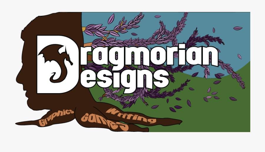 Dragmorian Designs Header - Illustration, Transparent Clipart