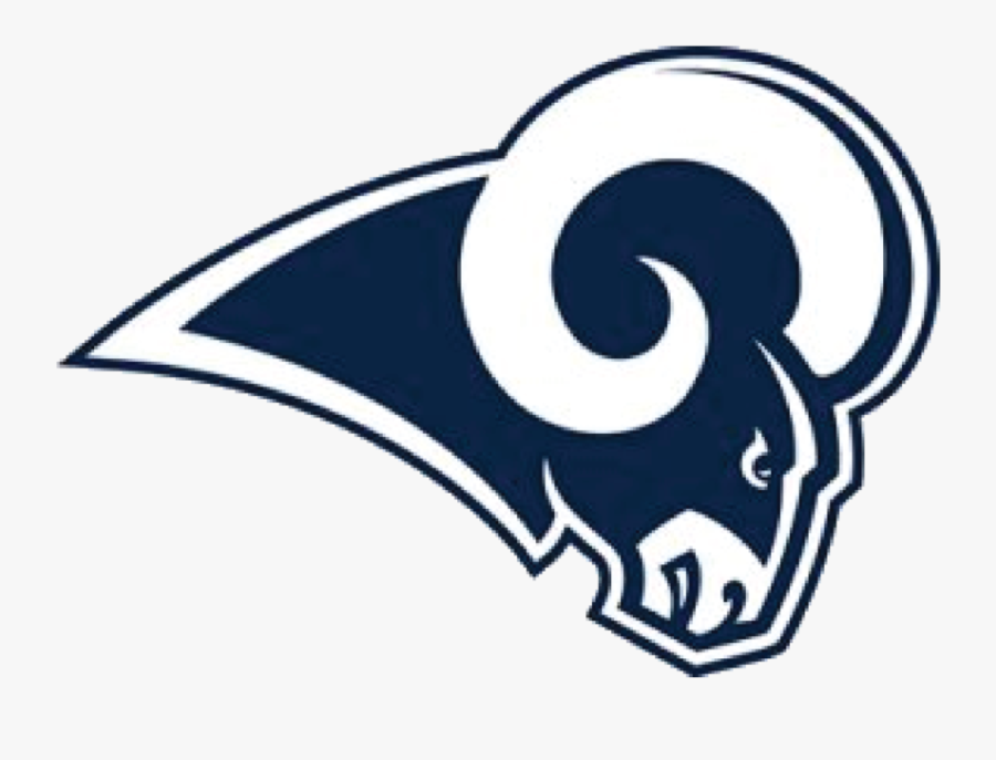 The Present Day Rams - Angeles Rams Logo Png, Transparent Clipart