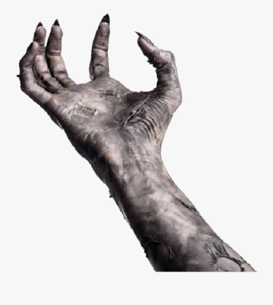 Realistic Zombie Hand Png : The image is png format and has been processed into transparent background by ps tool.