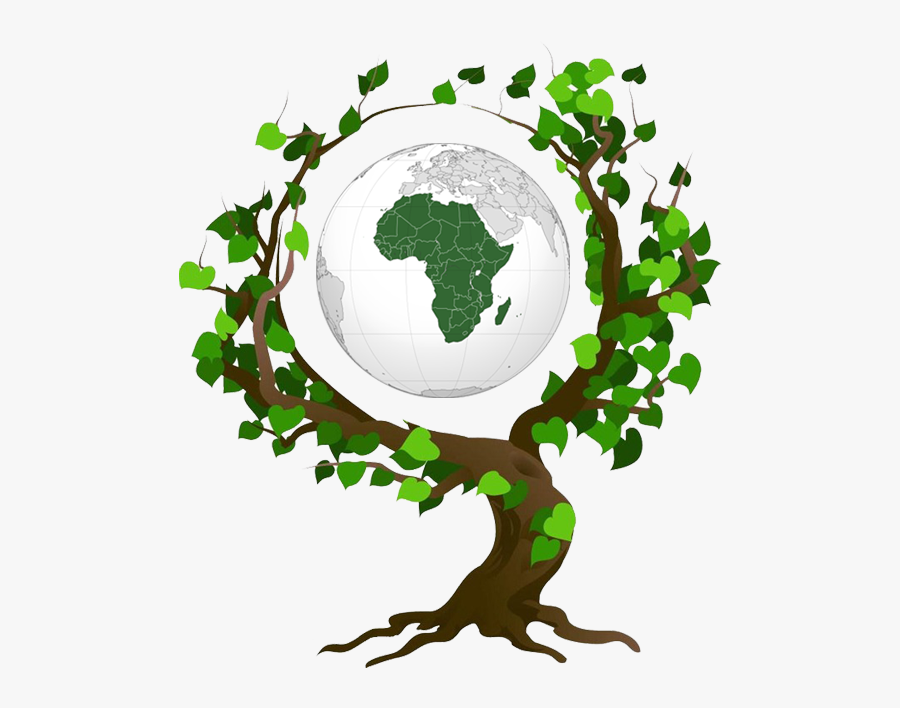 Earth Day 2019 Theme - Tree Save The Earth, Transparent Clipart