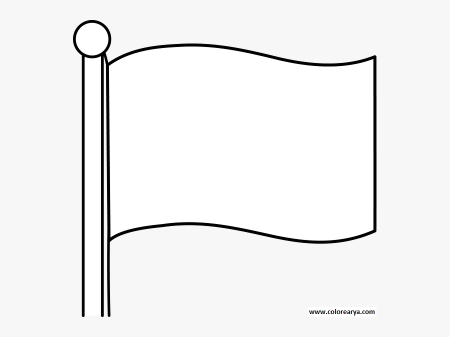 Flag Clipart Black And White, Transparent Clipart