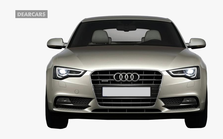 Audi Car Front View, Transparent Clipart