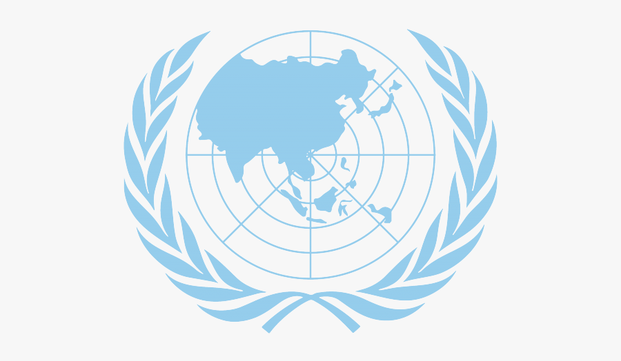 United Nations Flag Clipart Mun - United Nations, Transparent Clipart
