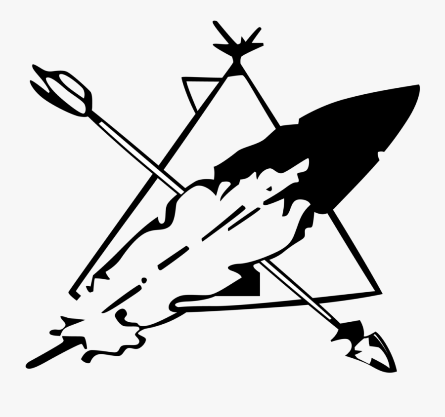 Sledding Drawing First Nations - Pinaymootang First Nation Fairford, Transparent Clipart
