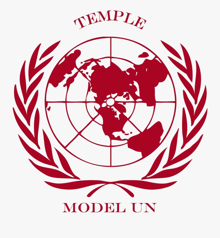 Model Un Logo - United Nation World Map, Transparent Clipart