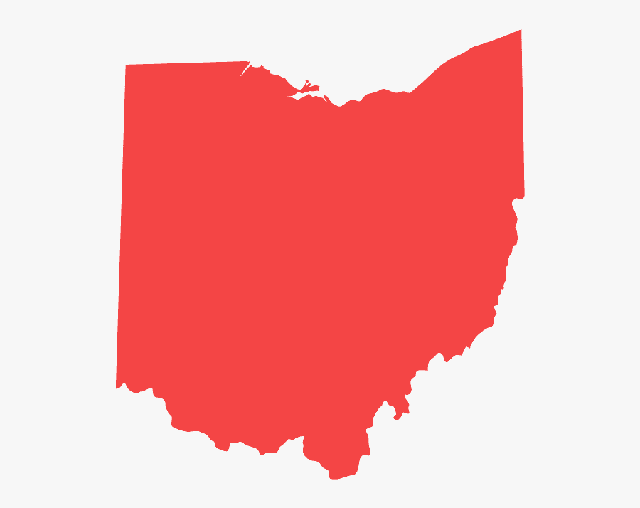 Ohio Congressional Districts 2010, Transparent Clipart