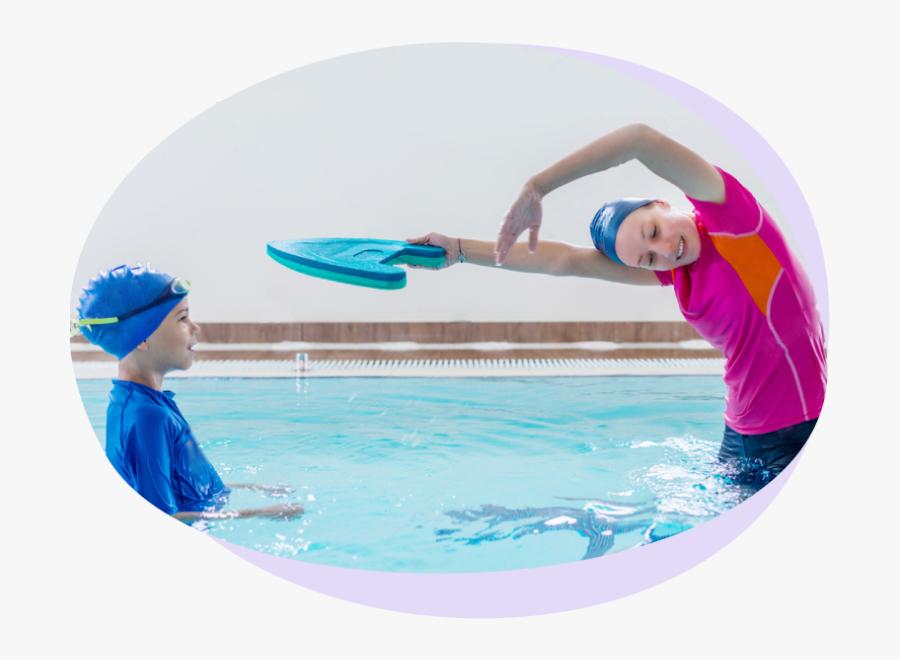 Jumping Into A Pool Png - Entrenador De Natación, Transparent Clipart