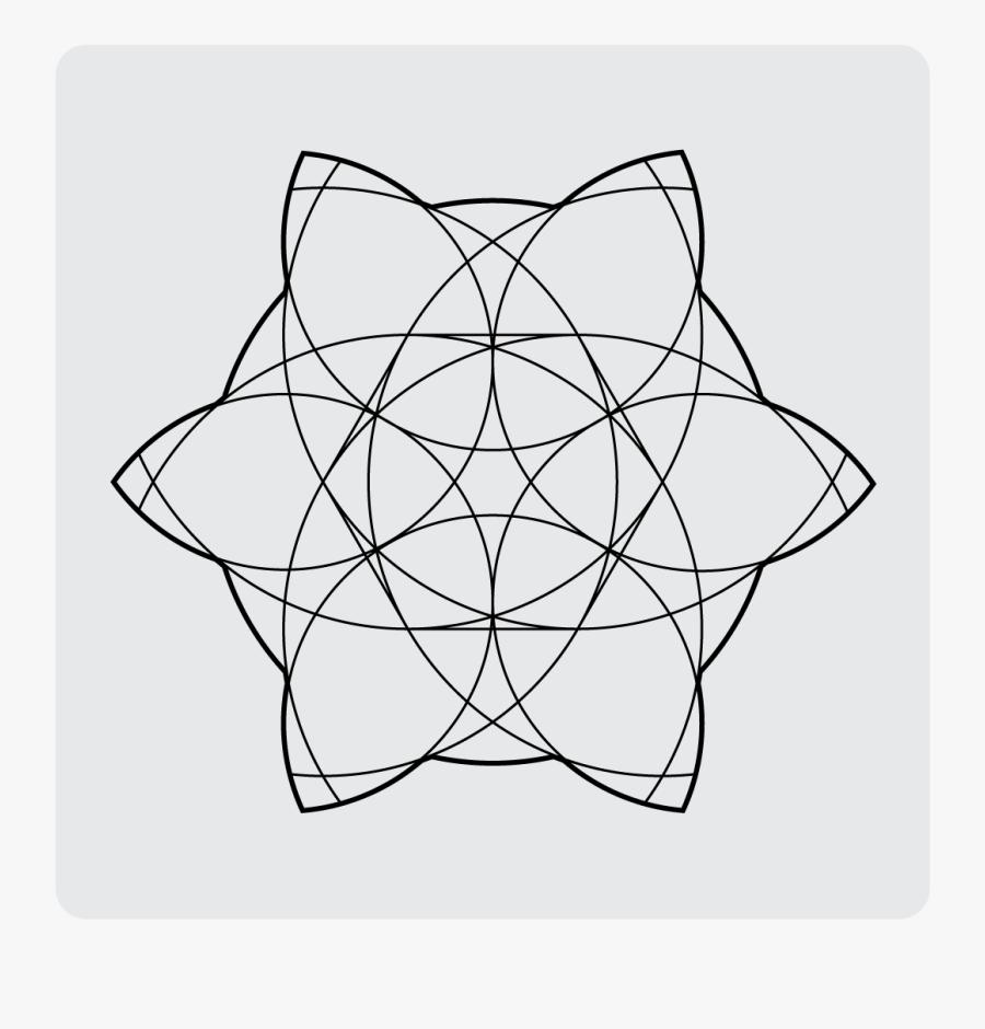 Geometric Design Daily Cjhm - Line Art, Transparent Clipart