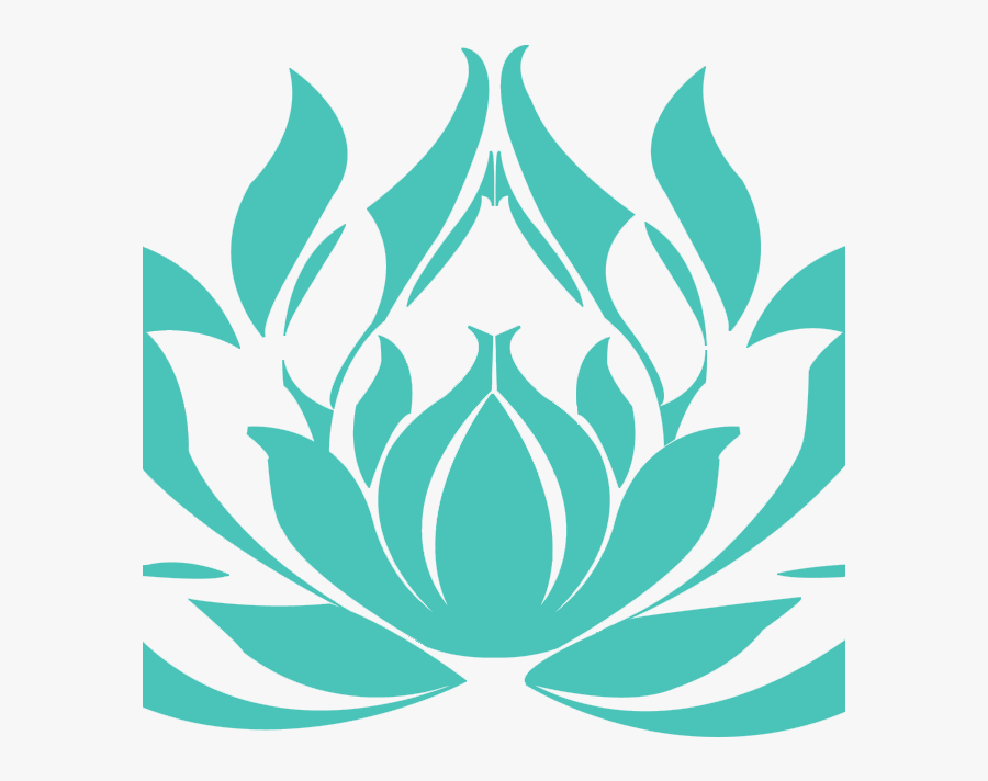 Lotus Flower Drawings , Transparent Cartoons - Jiu Jitsu Lotus Club, Transparent Clipart