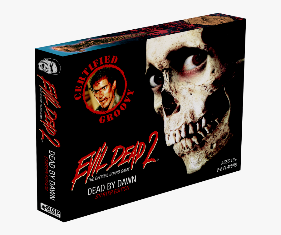 "Horror News Network Checks Out ""evil Dead - Evil Dead 2 Board Game, Transparent Clipart"