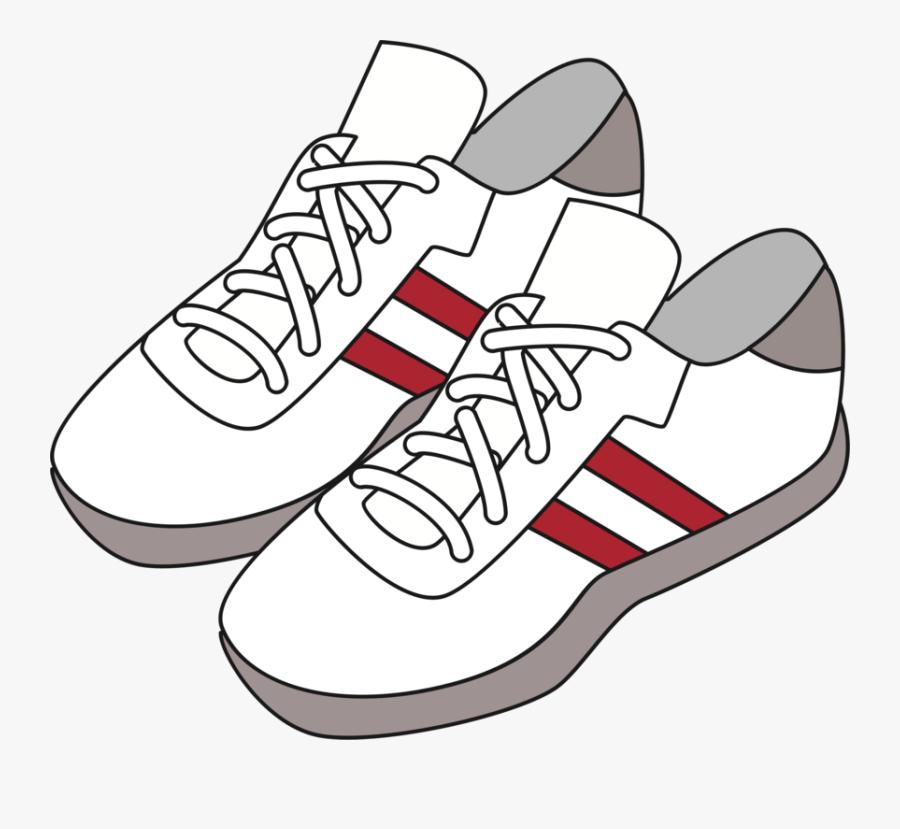 Walking Shoe,plimsoll Shoe,tennis Shoe - Gambar Sepatu Sekolah Kartun, Transparent Clipart