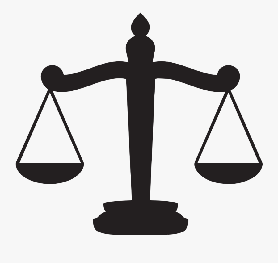 Measuring Scales Clip Art - Scales Of Justice Clipart, Transparent Clipart