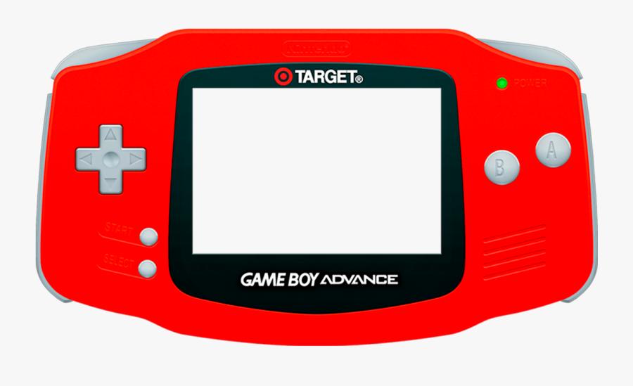 Bezel Nintendo Game Boy Advance (full - Game Boy Advance Flat, Transparent Clipart