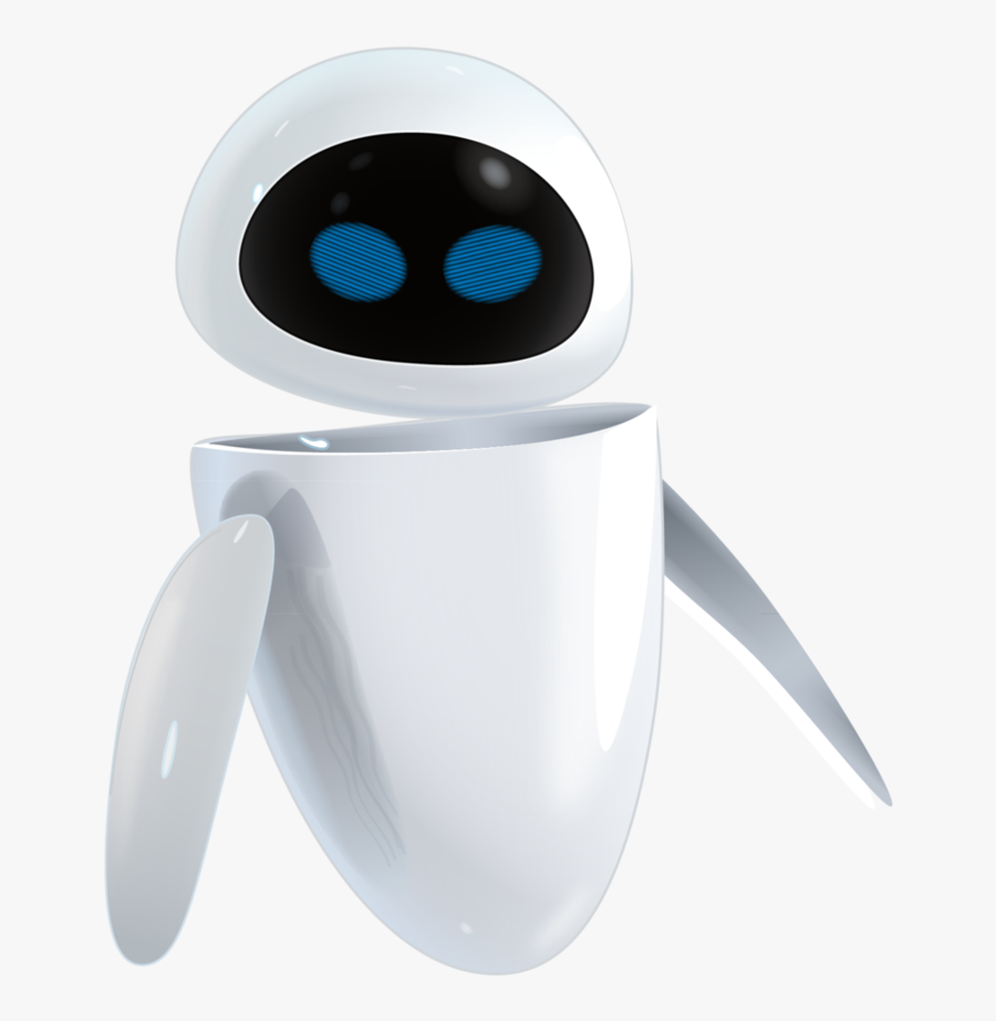 This Png File Is About Cartoon Net , Cartoon Maker - Eve Wall E Vector, Transparent Clipart