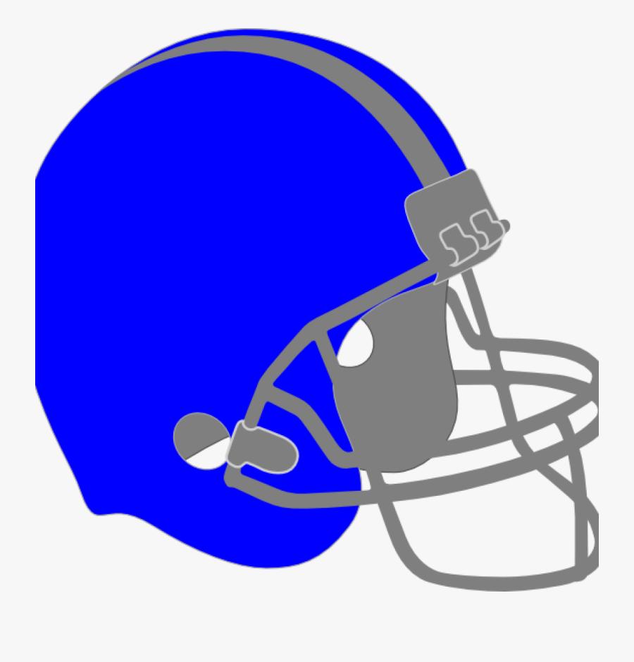 Helmet Clipart Blue Football Helmet Clip Art At Clker - Blue Football Helmet Clipart, Transparent Clipart